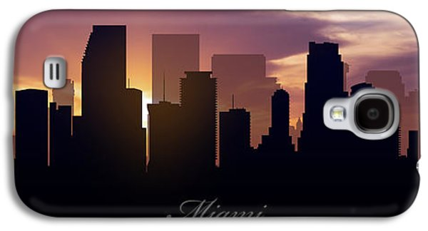Miami Sunset Galaxy S4 Case by Aged Pixel