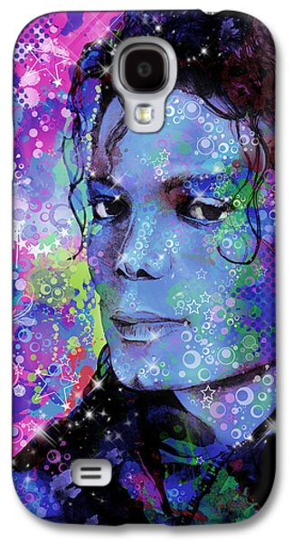 King Of Pop Galaxy S4 Cases - Michael Jackson 17 Galaxy S4 Case by MB Art factory