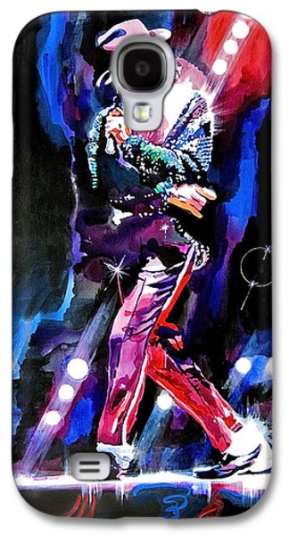 King Of Pop Galaxy S4 Cases - Michael Jackson Moves Galaxy S4 Case by David Lloyd Glover