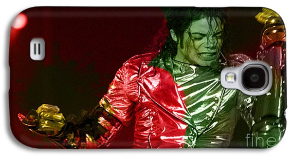 Michael Jackson Painting Galaxy S4 Case by Marvin Blaine
