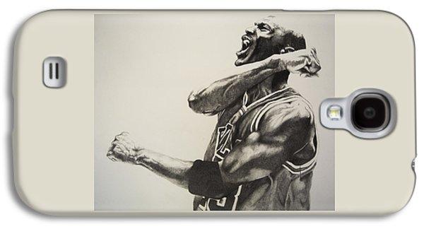 Michael Jordan Galaxy S4 Case by Jake Stapleton