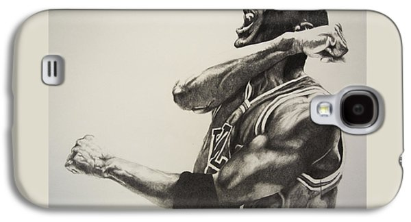Michael Jordan Galaxy S4 Case by Jake Stapleton