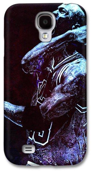 Mj Digital Galaxy S4 Cases - Michael Jordan We Did it Again Galaxy S4 Case by Brian Reaves