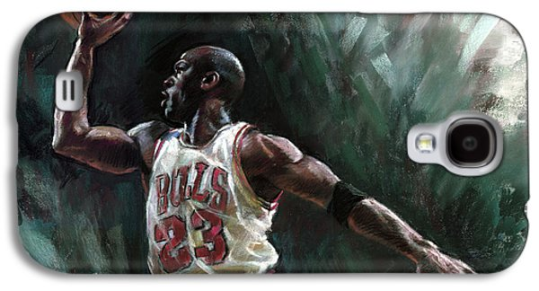 Michael Jordan Galaxy S4 Case by Ylli Haruni