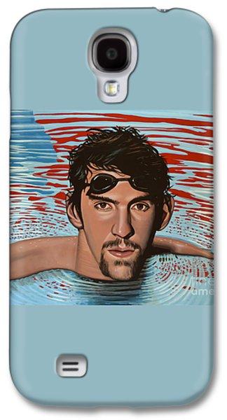 Michael Phelps Galaxy S4 Case by Paul Meijering