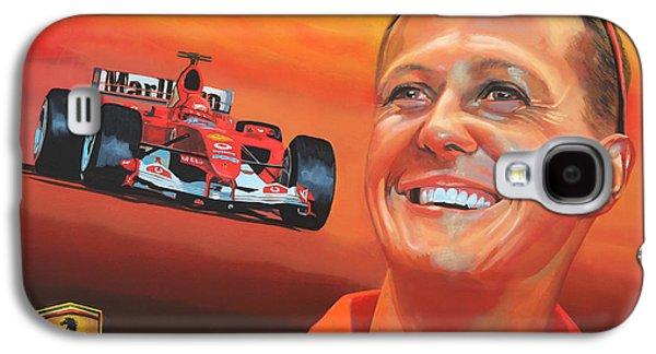 Michael Schumacher 2 Galaxy S4 Case by Paul Meijering