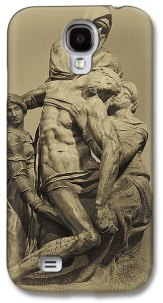 Michelangelo's Florence Pieta Galaxy S4 Case by Melany Sarafis