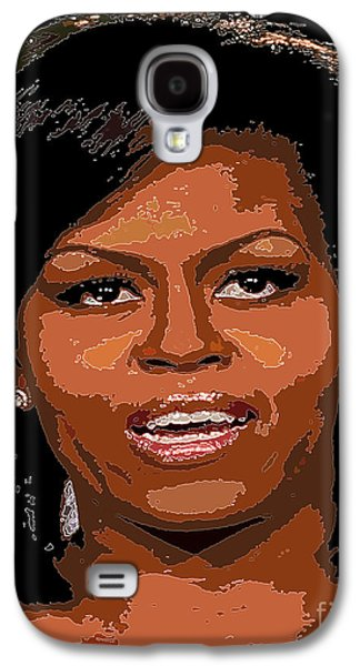 Michelle Obama Galaxy S4 Cases - Michelle Obama Galaxy S4 Case by Dalon Ryan