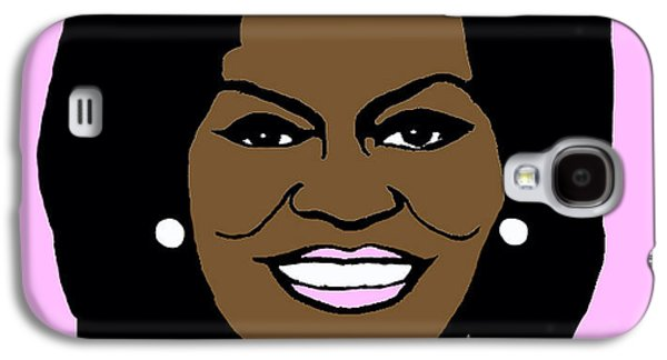 Michelle Obama Galaxy S4 Cases - Michelle Obama Galaxy S4 Case by Jost Houk