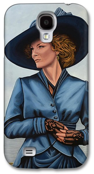Innocence Paintings Galaxy S4 Cases - Michelle Pfeiffer Galaxy S4 Case by Paul  Meijering