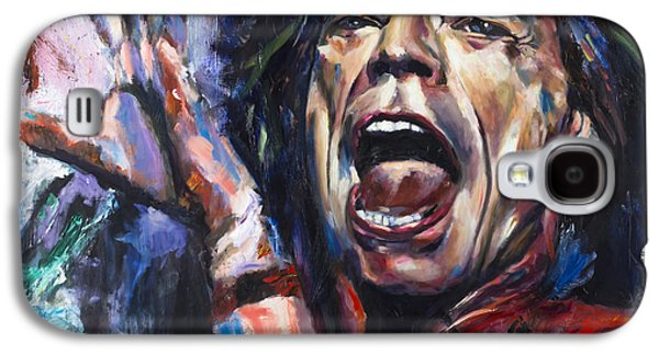 Mick Jagger Galaxy S4 Case by Mark Courage