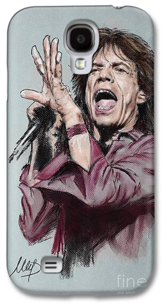 Mick Jagger Galaxy S4 Case by Melanie D