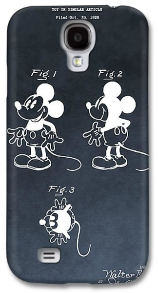 Mouse Digital Art Galaxy S4 Cases - Mickey Mouse Galaxy S4 Case by Dan Sproul