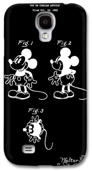 Mouse Digital Art Galaxy S4 Cases - Mickey Mouse Design Galaxy S4 Case by Dan Sproul