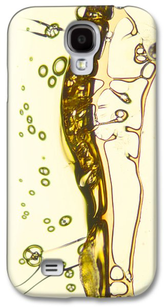 Surreal Landscape Pyrography Galaxy S4 Cases - Micro Art Beer 13 Galaxy S4 Case by Vin Kitayama