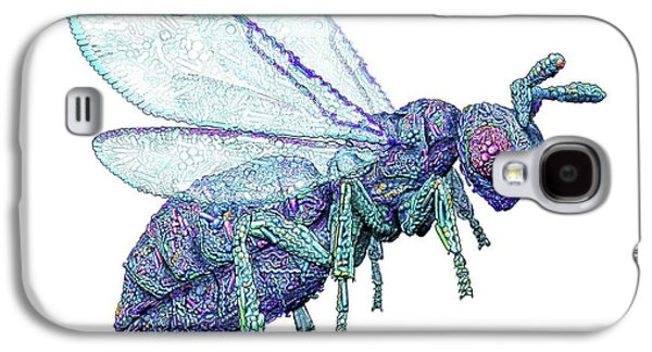Microbial Wasp Galaxy S4 Case by Nicolle R. Fuller
