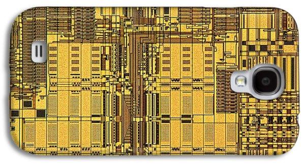 Microprocessor Instruction Decode Unit Galaxy S4 Case by Antonio Romero