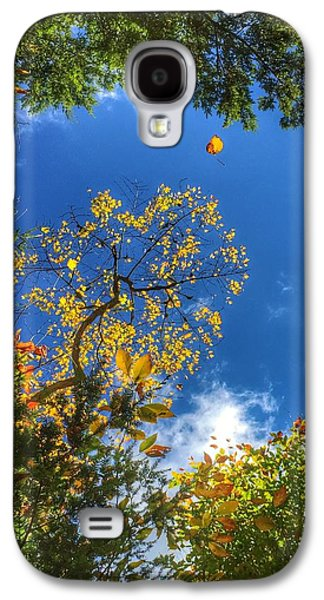 John Adams Galaxy S4 Cases - Midflight Galaxy S4 Case by John Adams