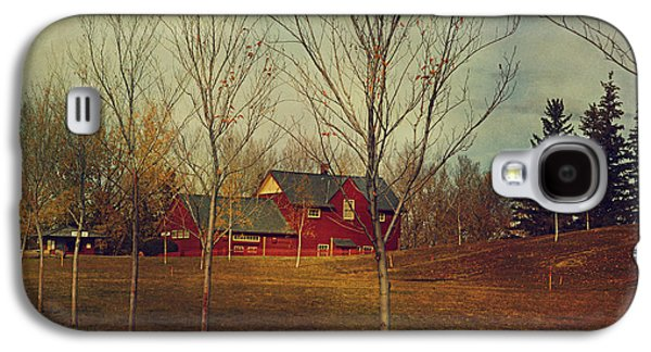 Park Scene Digital Galaxy S4 Cases - Midnapore Station - 1910 Galaxy S4 Case by Maria Angelica Maira
