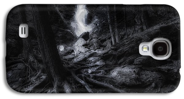 Tree Roots Galaxy S4 Cases - Midnight Falls Galaxy S4 Case by Bill  Wakeley