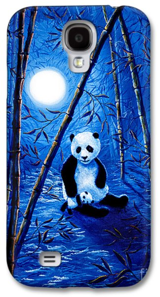 Midnight Lullaby In A Bamboo Forest Galaxy S4 Case by Laura Iverson