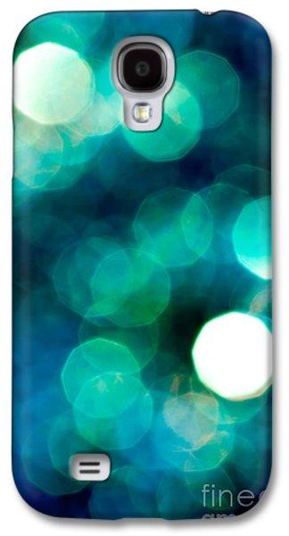 Glitters Galaxy S4 Cases - Midnight Magic Galaxy S4 Case by Jan Bickerton