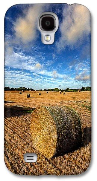 Farming Galaxy S4 Cases - Midsummer Harvest Galaxy S4 Case by Phil Koch