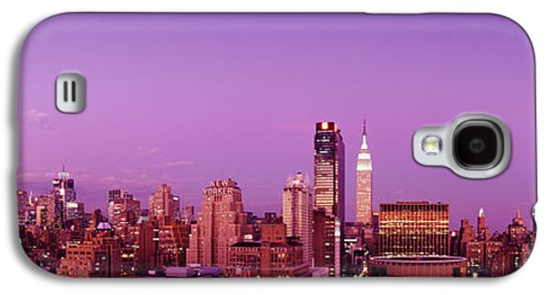 Moonscape Galaxy S4 Cases - Midtown Nyc, New York City, New York Galaxy S4 Case by Panoramic Images