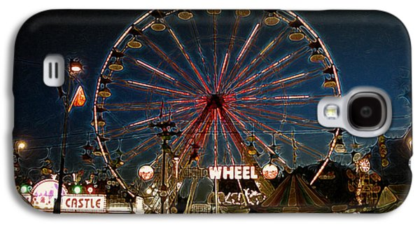 Midway Memories - Giant Wheel 3 Galaxy S4 Case by Stuart Turnbull