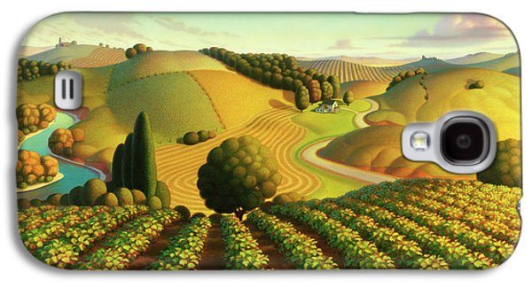 Midwest Vineyard Galaxy S4 Case by Robin Moline