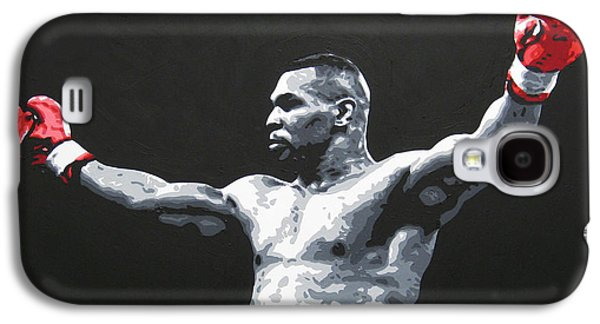 Mike Galaxy S4 Cases - Mike Tyson 1 Galaxy S4 Case by Geo Thomson