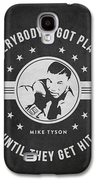 Heavyweight Digital Galaxy S4 Cases - Mike Tyson - Dark Galaxy S4 Case by Aged Pixel