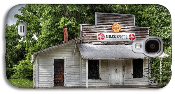 Country Store Galaxy S4 Cases - Miles Country Store Galaxy S4 Case by Benanne Stiens