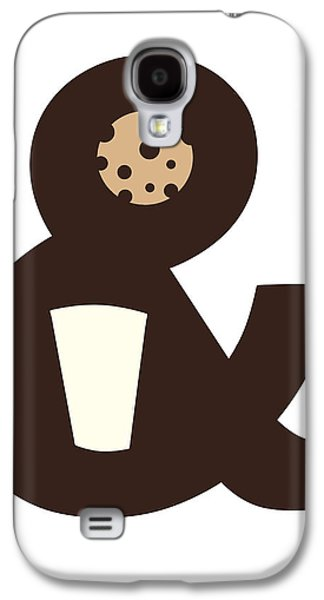 Clever Galaxy S4 Cases - Milk and Cookies Galaxy S4 Case by Neelanjana  Bandyopadhyay