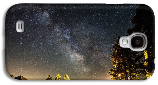 Galaxies Galaxy S4 Cases - Milky Way from Oldham South Dakota USA Galaxy S4 Case by Aaron J Groen