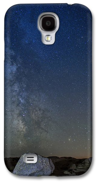 Maine Mountains Galaxy S4 Cases - Milky Way Over Cadillac Galaxy S4 Case by Rick Berk