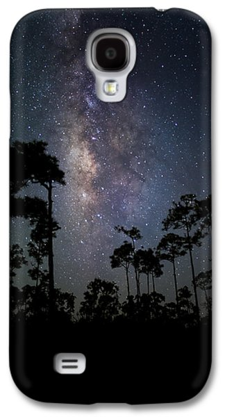 Heaven Photographs Galaxy S4 Cases - Milky Way Over the Everglades Galaxy S4 Case by Andres Leon