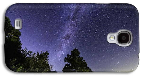 Constellations Pyrography Galaxy S4 Cases - Milky Way Southern Hemisphere Galaxy S4 Case by Gustavo Ordoqui