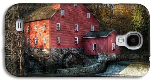 Old Mill Scenes Photographs Galaxy S4 Cases - Mill - Clinton NJ - The old mill Galaxy S4 Case by Mike Savad