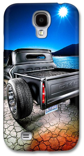 Dry Lake Galaxy S4 Cases - Millers Chop Shop 1964 GMC Easy As 123 Galaxy S4 Case by Yo Pedro