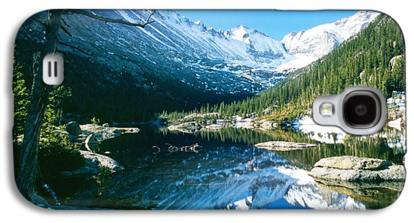 Keyboards Photographs Galaxy S4 Cases - Mills Lake Galaxy S4 Case by Eric Glaser