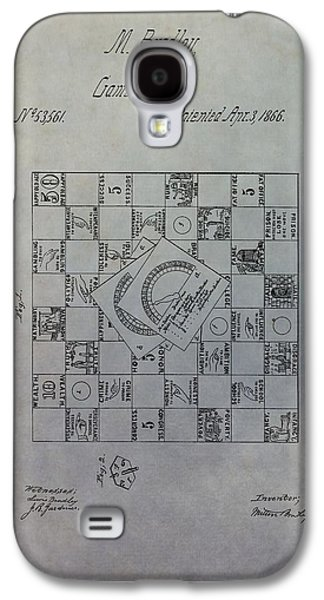 Toy Store Galaxy S4 Cases - Milton Bradley Life Game Patent Galaxy S4 Case by Dan Sproul