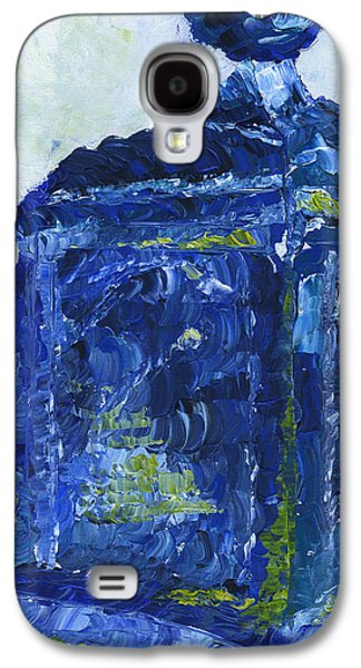 Police Art Paintings Galaxy S4 Cases - Milwaukee Police Call Box Galaxy S4 Case by Lindsey Mathewson