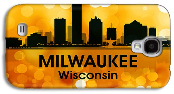 Industrial Mixed Media Galaxy S4 Cases - Milwaukee WI 3 Galaxy S4 Case by Angelina Vick