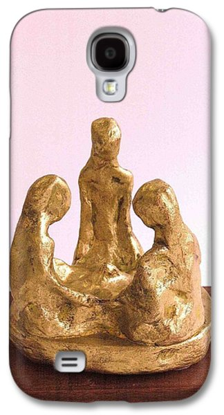 Person Sculptures Galaxy S4 Cases - Minamoto-The Origin 2012 Galaxy S4 Case by Karl Leonhardtsberger