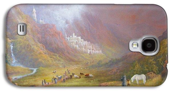 Minas Tirith  War Approaches. Galaxy S4 Case by Joe  Gilronan