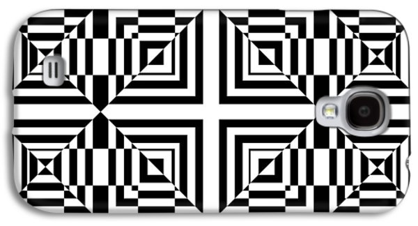 Optical Illusion Digital Art Galaxy S4 Cases - Mind Games 49 Galaxy S4 Case by Mike McGlothlen