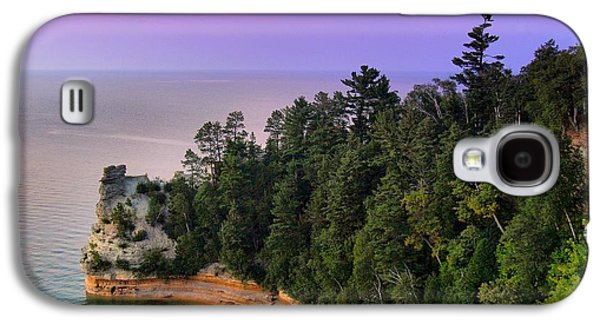Recently Sold -  - Fantasy Photographs Galaxy S4 Cases - Miners Castle at Sunset Galaxy S4 Case by Dave Zuker