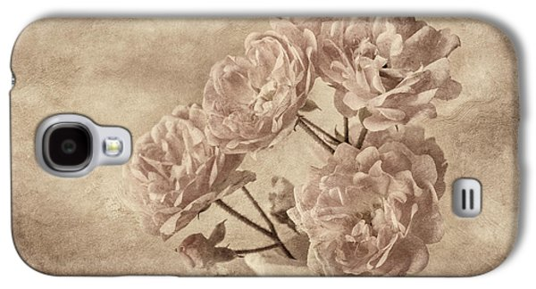 Miniature Photographs Galaxy S4 Cases - Miniature Rose Bouquet Galaxy S4 Case by Mary Jo Allen