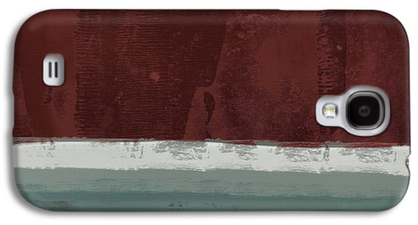Red Abstracts Digital Galaxy S4 Cases - Minima - brg01dd Galaxy S4 Case by Variance Collections